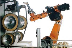 机器人抛光单位